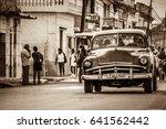 santa clara  cuba   june 19 ... | Shutterstock . vector #641562442