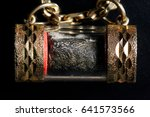 thai amulet  buddha images | Shutterstock . vector #641573566