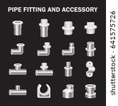 vector icon of pipe fitting or