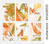 rough sketched dandelion... | Shutterstock .eps vector #641628535
