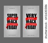 black friday sale banner best... | Shutterstock . vector #641630386