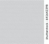 black seamless wavy line pattern | Shutterstock .eps vector #641642398