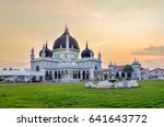 historic mosque of malaysia | Shutterstock . vector #641643772