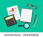 analytics planning things data... | Shutterstock .eps vector #641650606