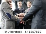 businessman team in suit... | Shutterstock . vector #641667892