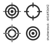 target set | Shutterstock .eps vector #641692642