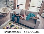 free time together. happy... | Shutterstock . vector #641700688
