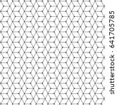 pattern vector line graphic... | Shutterstock .eps vector #641705785