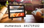 digital composite of search... | Shutterstock . vector #641719102