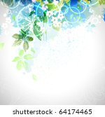 spring composition | Shutterstock .eps vector #64174465