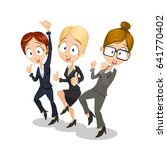 vector illustration of business ... | Shutterstock .eps vector #641770402