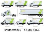 vector realistic transport... | Shutterstock .eps vector #641814568
