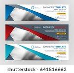 abstract web banner design... | Shutterstock .eps vector #641816662