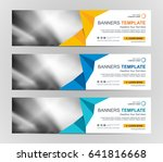 abstract web banner design... | Shutterstock .eps vector #641816668