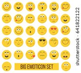 emoticon vector illustration.... | Shutterstock .eps vector #641822122