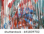 colorful wall texture | Shutterstock . vector #641839702