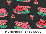 hand drawn vector abstract... | Shutterstock .eps vector #641843092