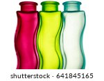 red  green and blue decorative... | Shutterstock . vector #641845165