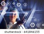 innovative technologies in... | Shutterstock . vector #641846155