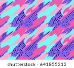 abstract seamless geometric...   Shutterstock .eps vector #641855212