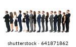 turn isolated on white... | Shutterstock . vector #641871862