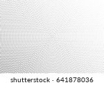 abstract halftone dotted... | Shutterstock .eps vector #641878036