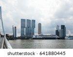 rotterdam  netherlands   august ... | Shutterstock . vector #641880445