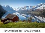 Norwegian Fjord Landscape In...