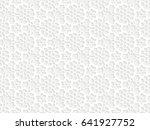 Stencil Template Of White...