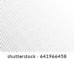 abstract halftone dotted... | Shutterstock .eps vector #641966458
