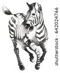 black and white monochrome... | Shutterstock . vector #642024766