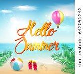 summer.  | Shutterstock .eps vector #642095242