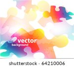 abstract background made from... | Shutterstock .eps vector #64210006