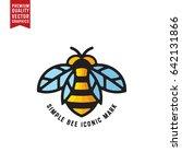 Honey Bee Linear Vector...