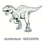 Tyrannosaurus Rex Illustration...