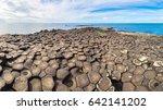 giant's causeway in a beautiful ... | Shutterstock . vector #642141202