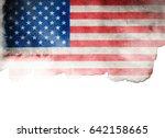 flag of usa | Shutterstock . vector #642158665
