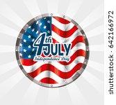 independence day design | Shutterstock .eps vector #642166972