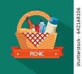 picnic time design   Shutterstock .eps vector #642168106