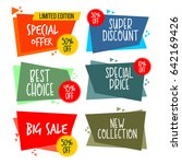 price label collection logo...