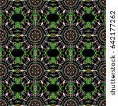 cutout paper lace texture ...   Shutterstock .eps vector #642177262