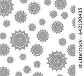 gear machinery piece | Shutterstock .eps vector #642190435