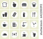 fastfood | Shutterstock .eps vector #642200392