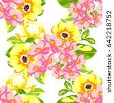 abstract elegance seamless... | Shutterstock .eps vector #642218752