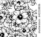 abstract elegance seamless... | Shutterstock . vector #642218836