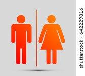 restroom sign illustration....   Shutterstock .eps vector #642229816