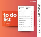 to do list interface design
