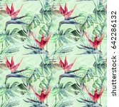 Exotic Plant Seamless Pattern....