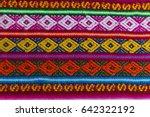 la paz  bolivia june 2  detail... | Shutterstock . vector #642322192
