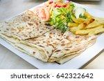 turkish traditional ramadan... | Shutterstock . vector #642322642